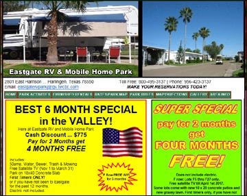 Eastgate RV MH Park EastgateRVPark A 55 Mobile Home Resort Located In Harlingen TX